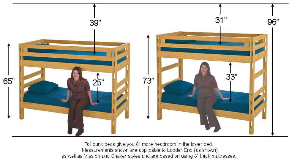 Bunk Beds Bunks Bed Full size bunk beds for kids
