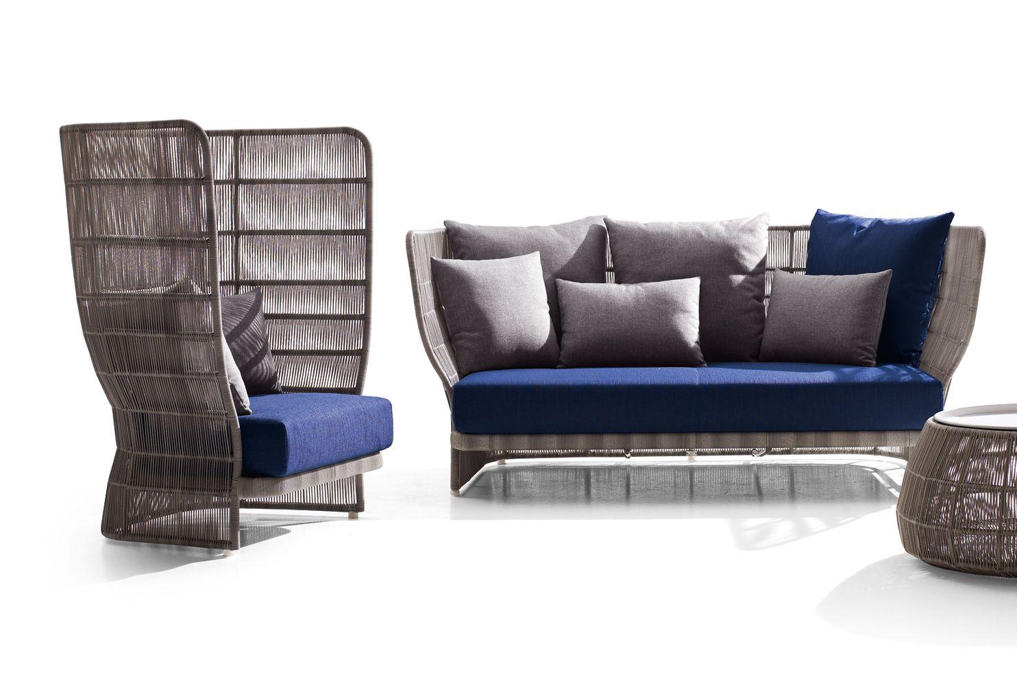 Armchair Canasta 39 13 Collection B Amp B Italia Outdoor Design Patricia Urquiola Outdoor Sofa Outdoor Furniture Furniture