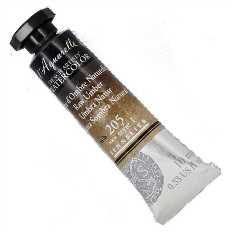 Sennelier French Artists Watercolour Paints 10ml Tubes Honey Based