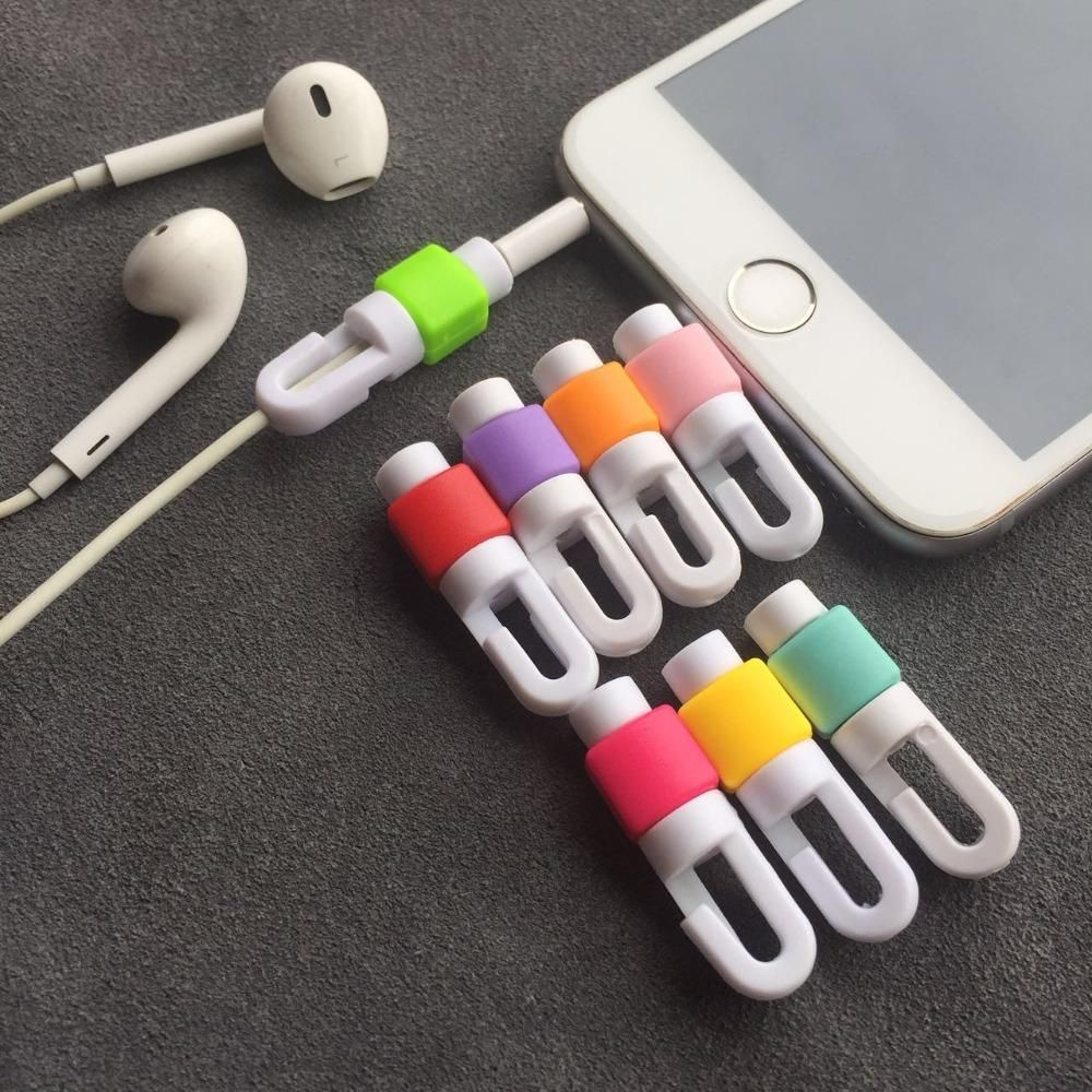 Hot Earphone Cable Protector For Iphone Earphones Wire Organizer Earpods Cord Protector Protective Case Colors Bobbin Winder Cover From Dangdang20100 0 11 D Earphones Wire Iphone Earphones Iphone Cord
