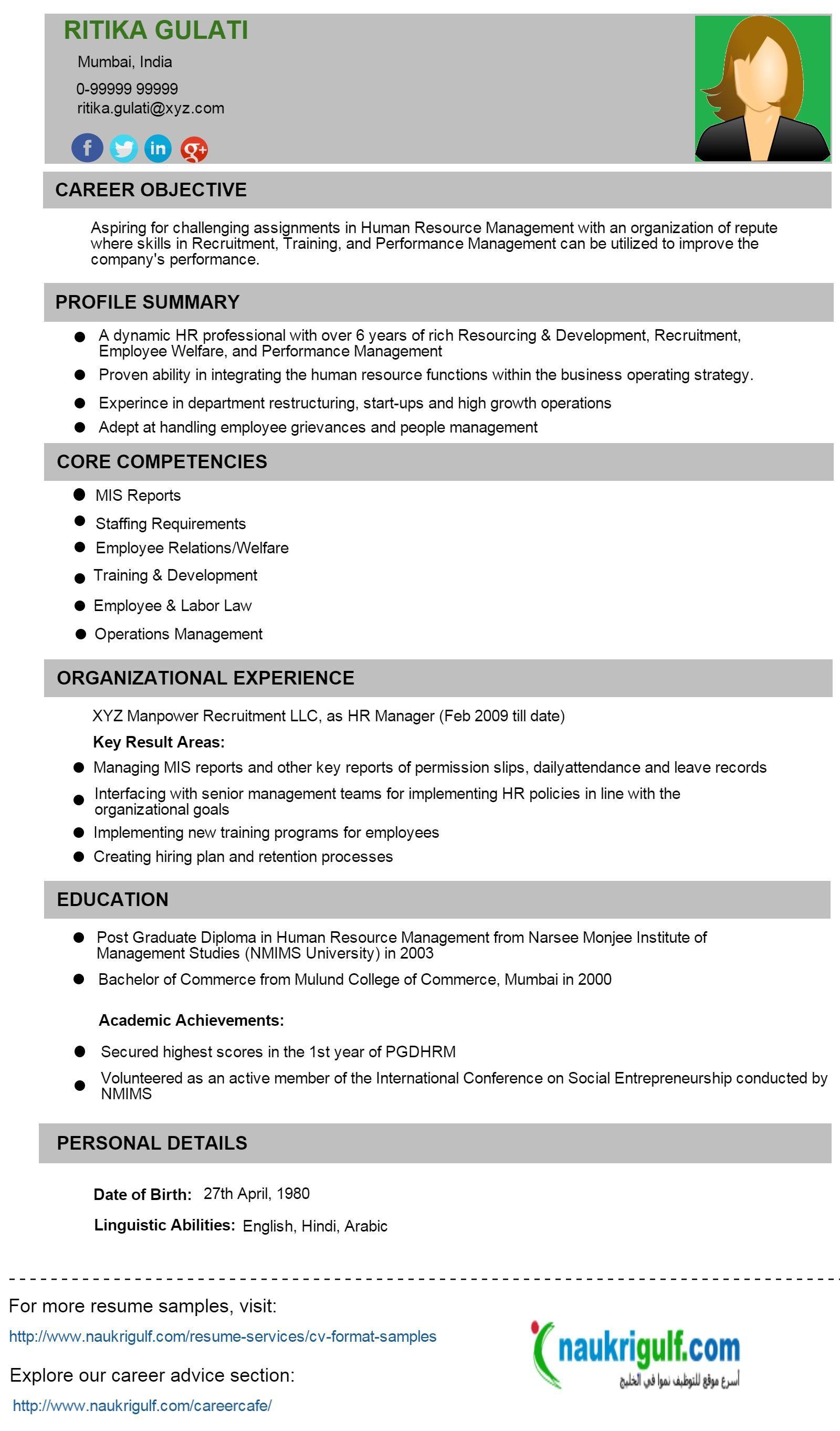 resume format kuwait format kuwait resume resumeformat hr cv