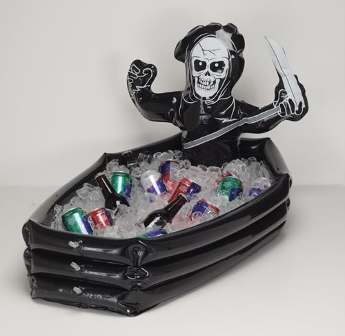 Inflatable Skeleton Cooler! Buy in Bulk! Perfect for a big Halloween - bulk halloween decorations