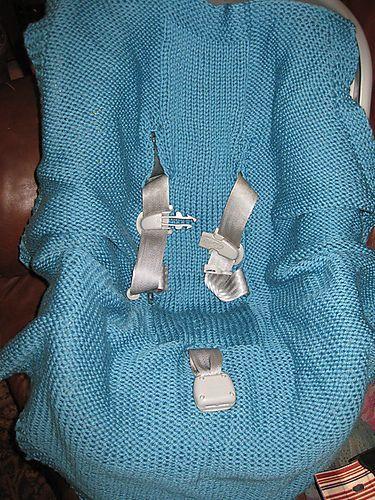 Wrap Around Car Seat Blanket Pattern By Lara Muse Car Seat