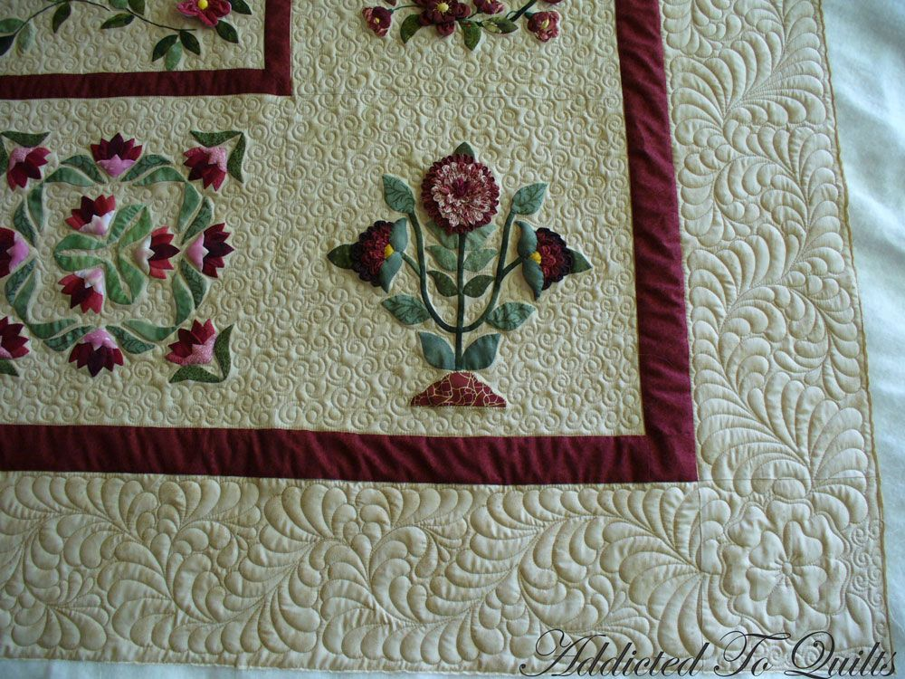 gorgeous applique and quilting