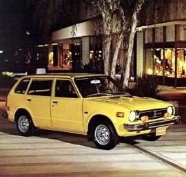 honda cvcc station wagon