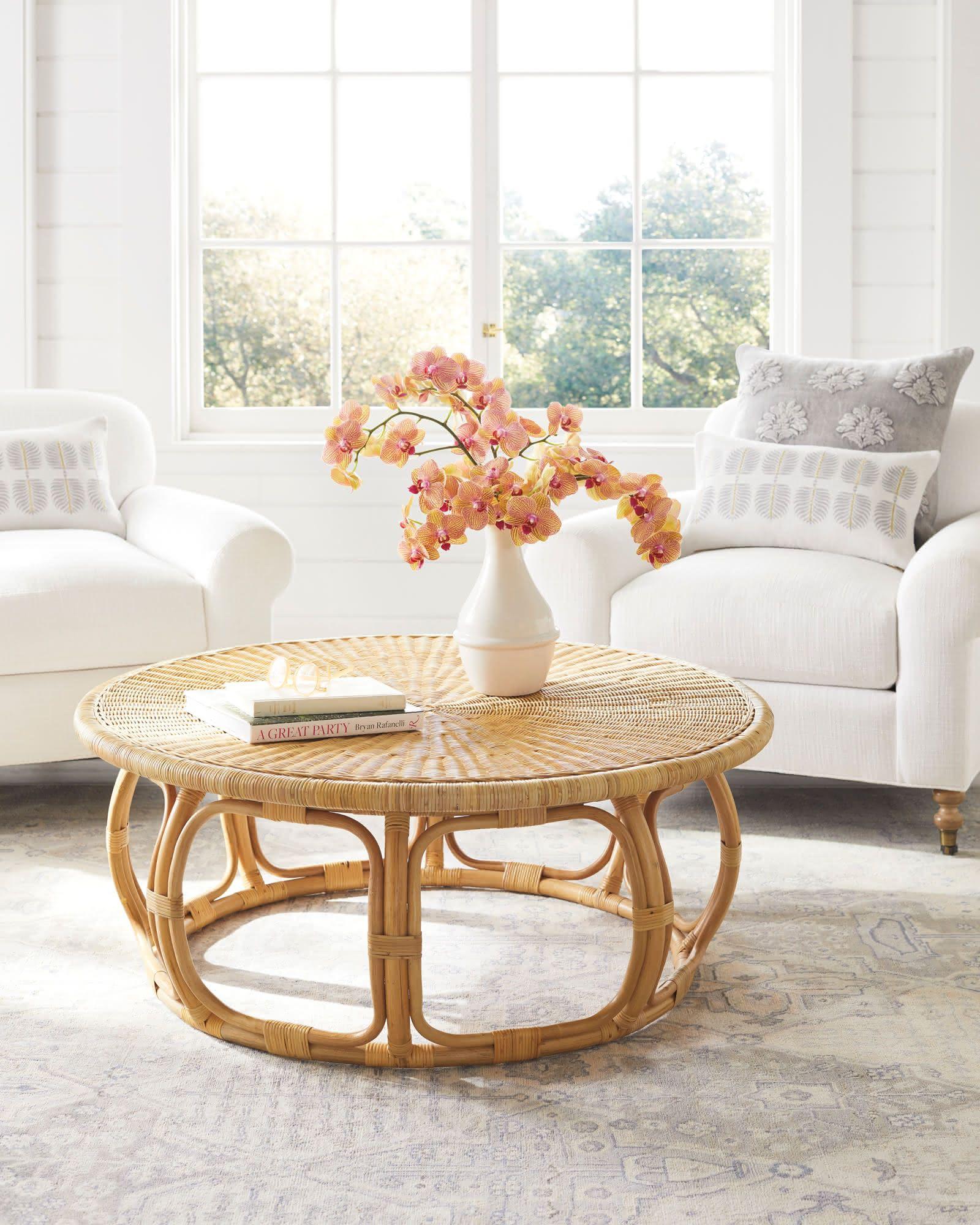 Anguilla rattan coffee table in 2020 coffee table