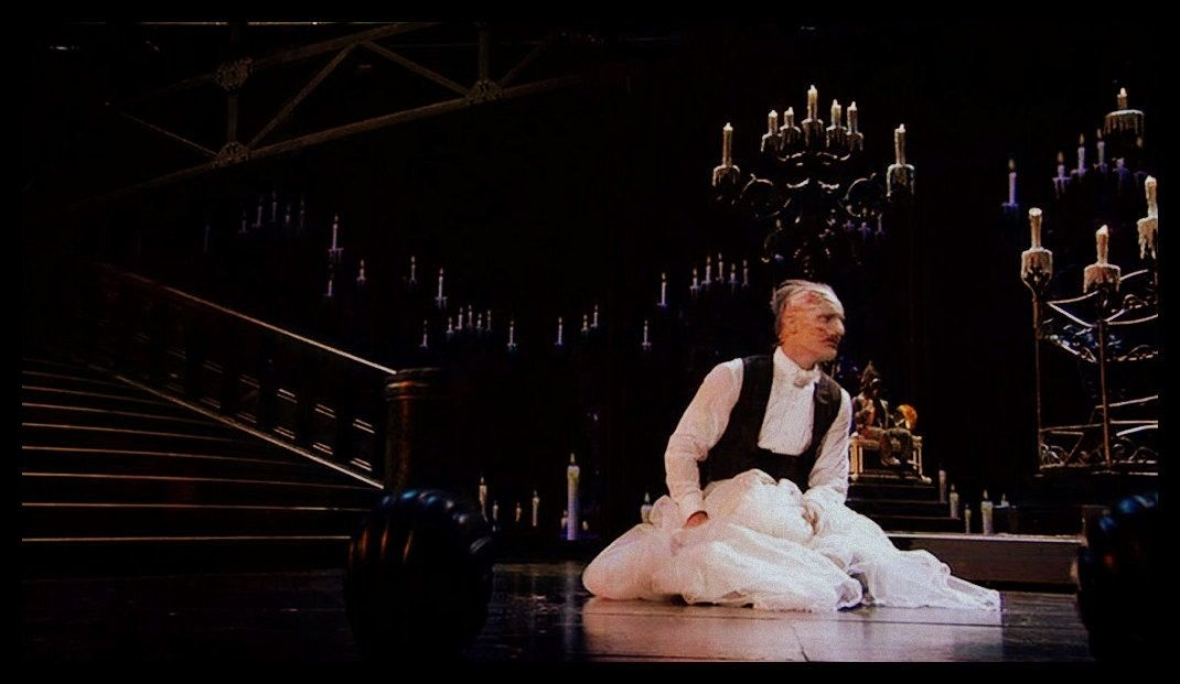 The Phantom of the Opera 25th Anniversary at the Royal Albert Hall, with Ramin Karimloo as the Phantom.