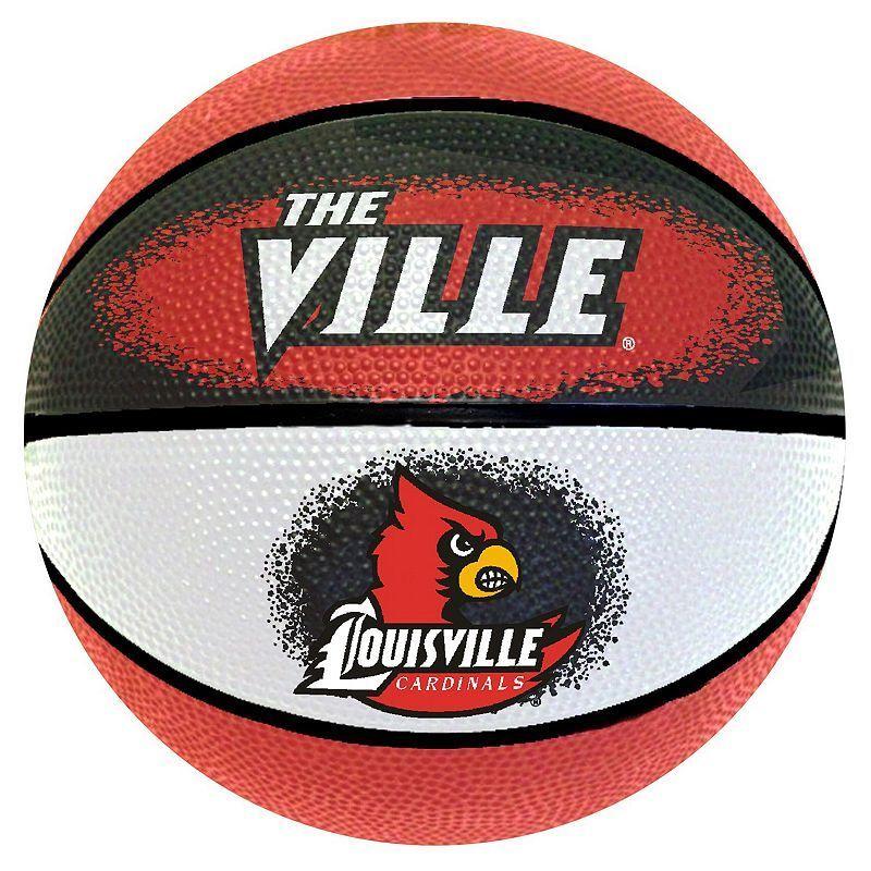 Louisville Cardinals Mini Basketball, Multicolor