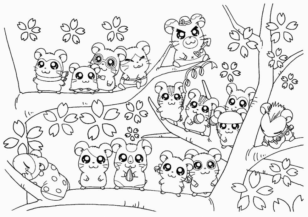 Hamster Coloring Pages Best Coloring Pages For Kids Cute Coloring Pages Mermaid Coloring Pages Tree Coloring Page