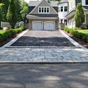 Franklin Lakes Home Designed From Start To Finish Asphalt Driveway Driveway Materials Cobblestone Driveway