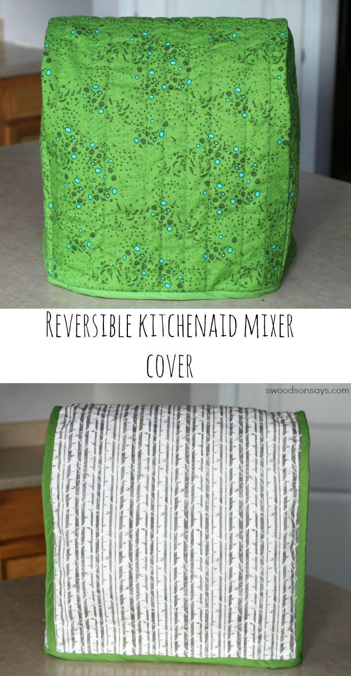 Reversible Kitchenaid Mixer Cover | Schnittmuster, Nähen und Deko