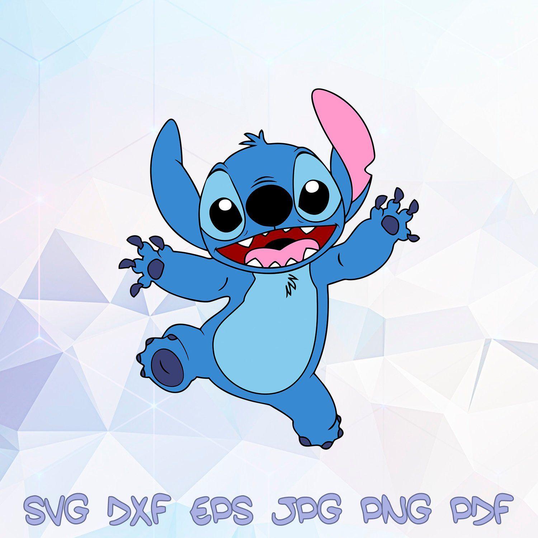 Lilo and Stitch SVG Disney Stich Cricut Silhouette Clipart