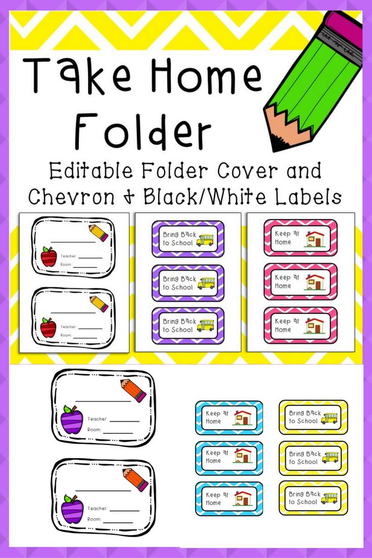 take home folder | worksheets for kindergarten | pinterest | school