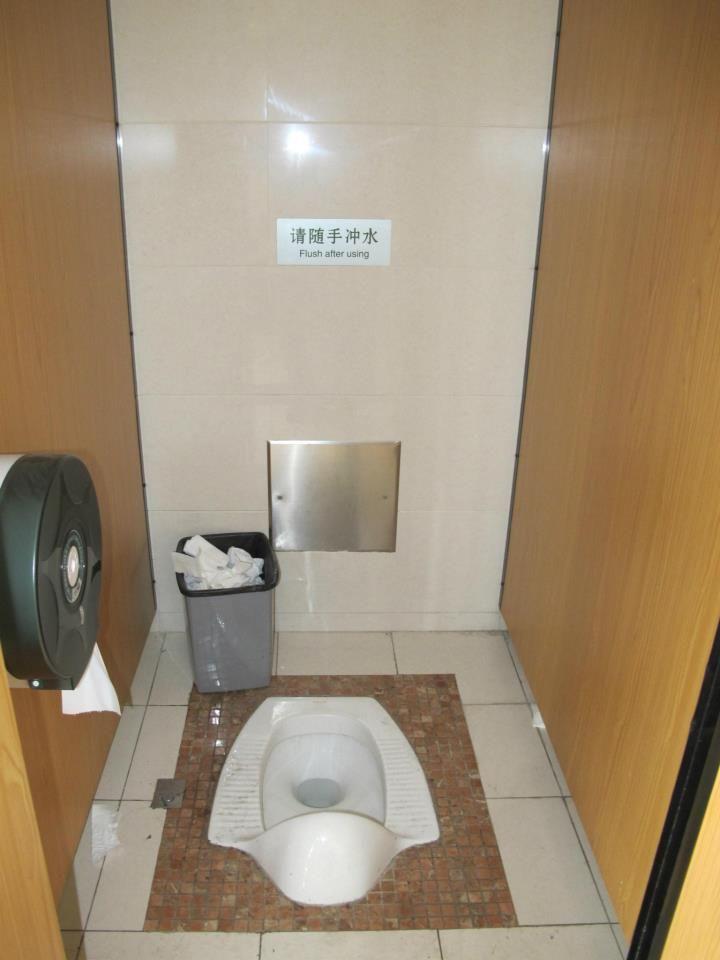 Use This Toilet Flush Bathroom