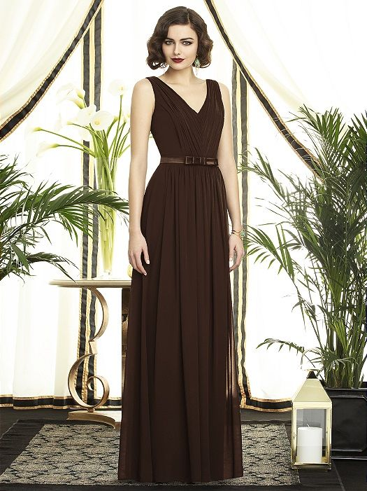 Dessy Collection Style 2897 http://www.dessy.com/dresses/bridesmaid/2897/?color=espresso&colorid=15#.Uog4n_k3uSo