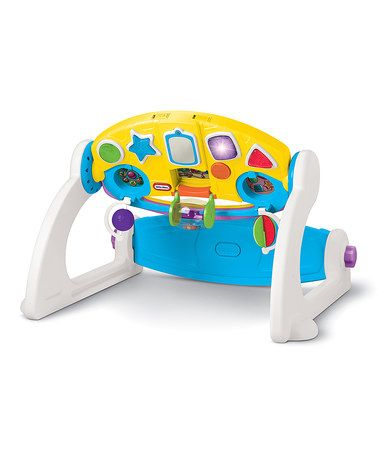 This 5 In 1 Adjustable Gym Is Perfect Zulilyfinds Little Tikes
