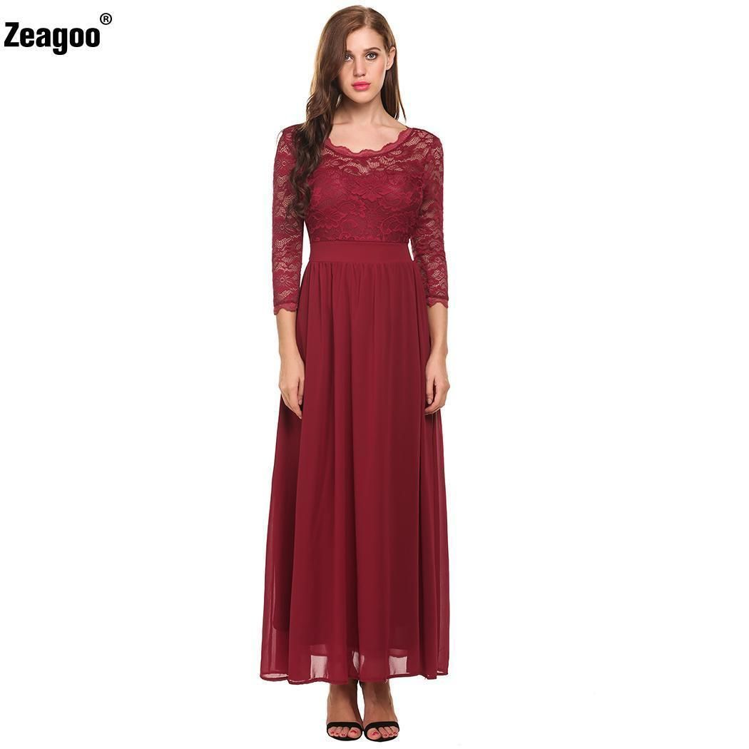 Nice acevog women formal prom dress party gown evening bridesmaid