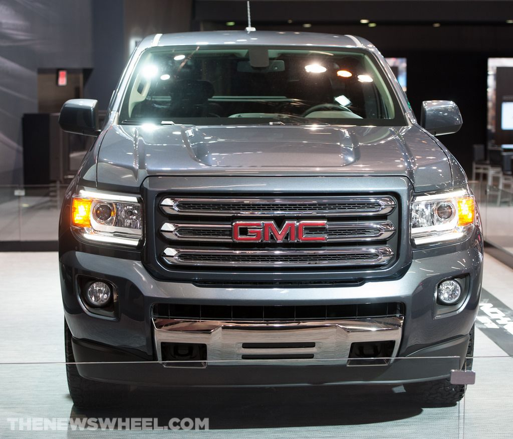 2015 Gmc Canyon At The Chicago Auto Show Fuelcas Gmc Canyon