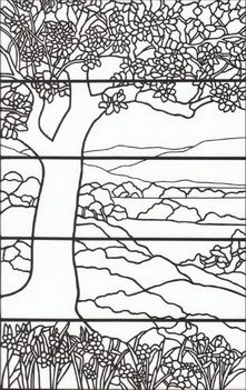Tiffany+Stained+Glass+Coloring+Book | smith a tiffany designs ...