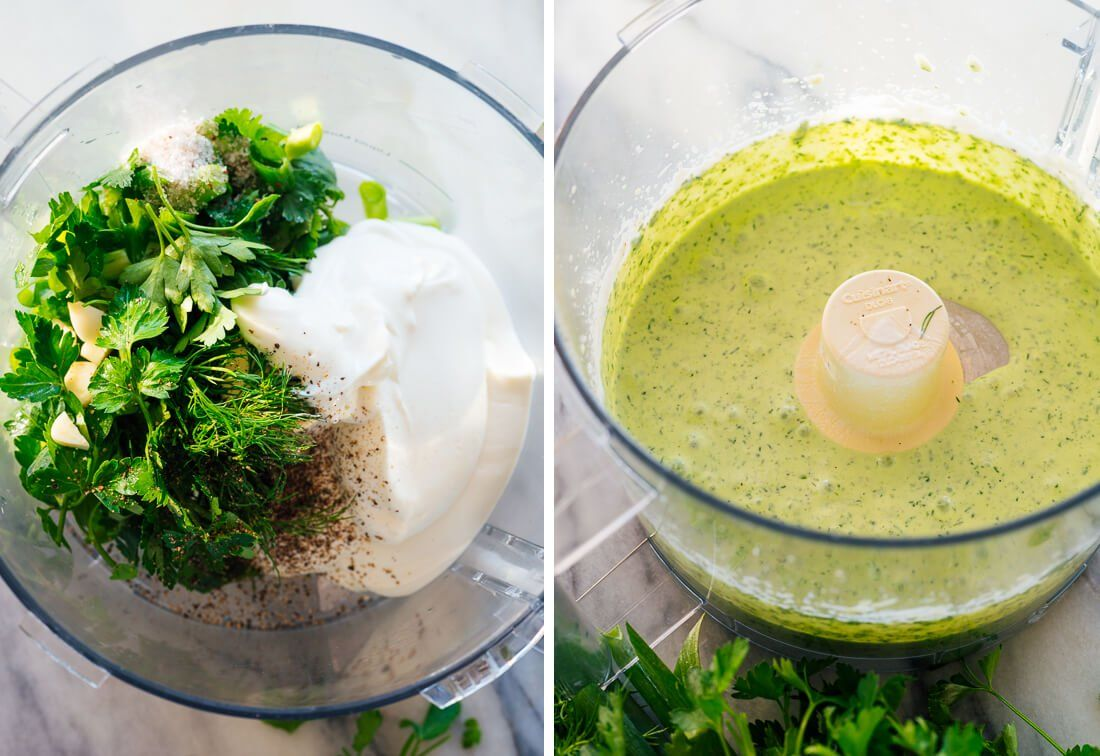 Easy Green Goddess Dressing Recipe Cookie And Kate Recipe Goddess Dressing Recipe Green Goddess Dressing Dressing Recipe [ 756 x 1100 Pixel ]