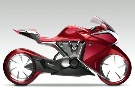 2010 Honda V4 Teaser Video Honda Bikes Concept Motorcycles