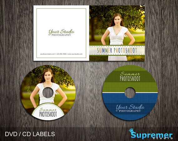 Summer CD Cover Template - cd Label Template - dvd Cover Template - psd album cover template