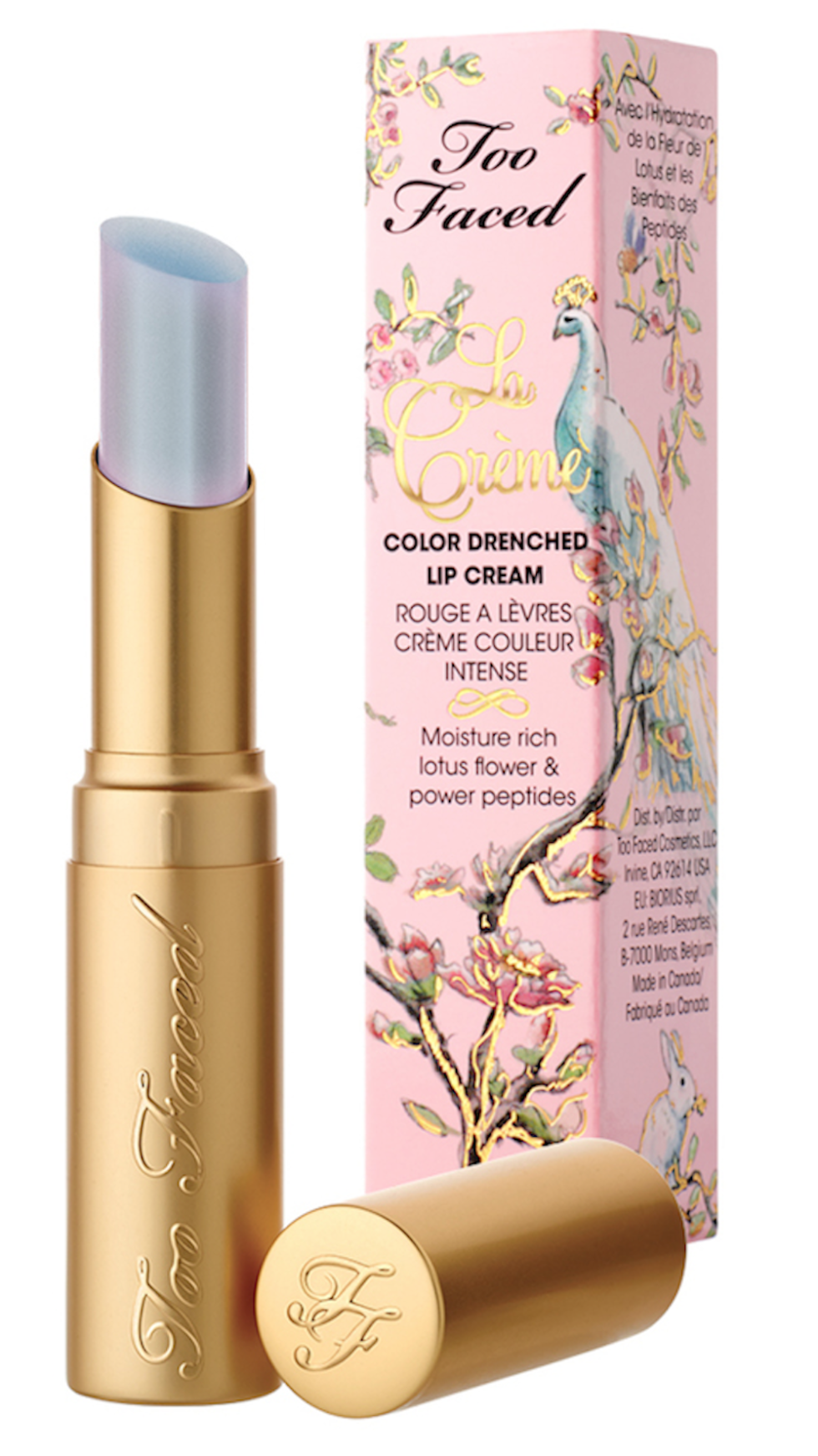 """Here's What the Holographic """"Unicorn Tears"""" Lipstick Looks"""