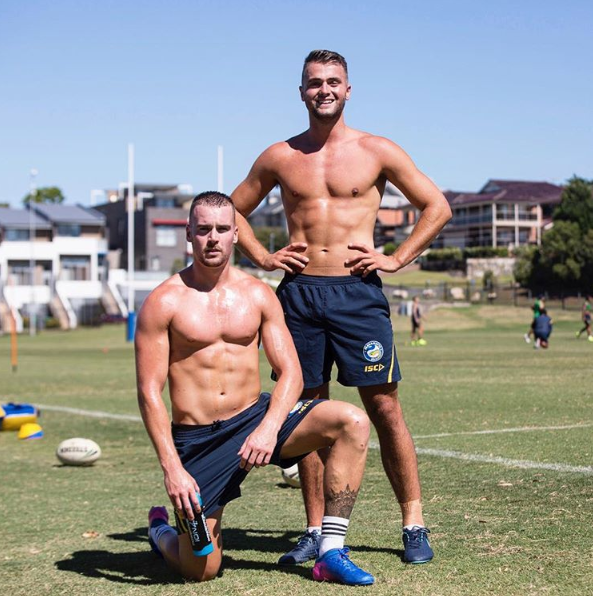 Footy Players Clint Gutherson And Jaeman Salmon Of The Footy Beautiful Athletes Clint