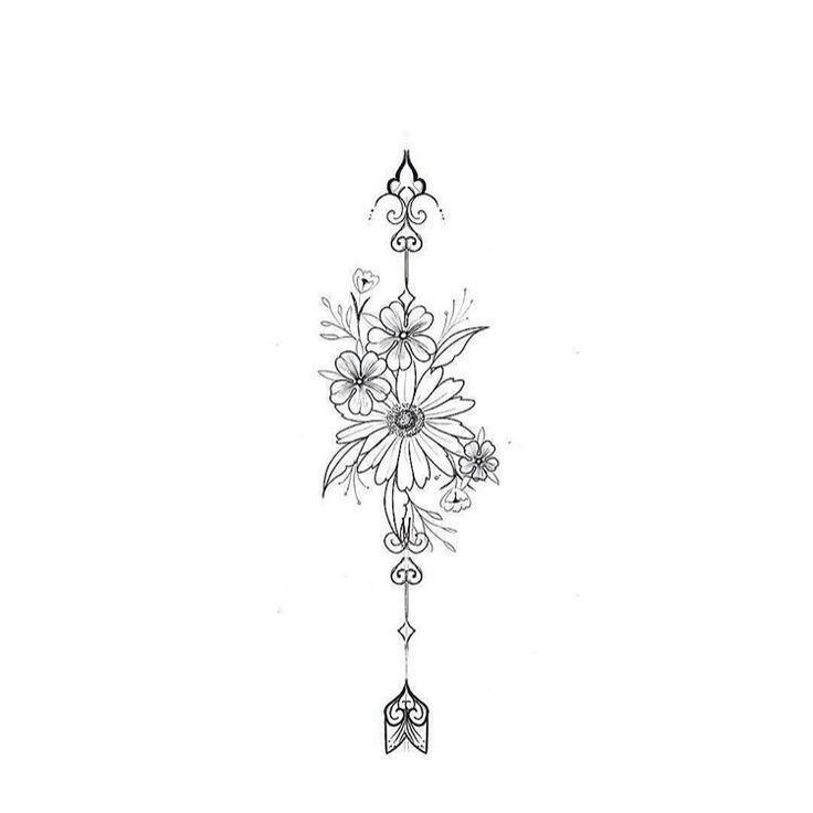 No arrow ... I think. with 3 daisies. I like all the leaves, #thinking #daisy ... -  No arrow … I think. with 3 daisies. I like all the foliage  #the #think #Daisy #whole #I   - #angeltatto #arrow #daisies #daisy #forearmtatto #leaves #matchingtatto #necktatto #sistertatto #skulltatto #tattoart #tattovrouw #think #thinking
