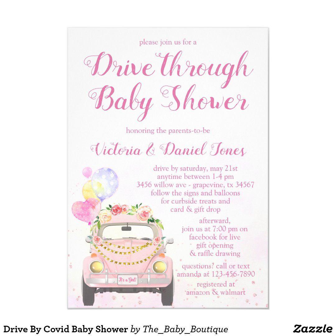 Pin On Popular Baby Girl Shower Invitations