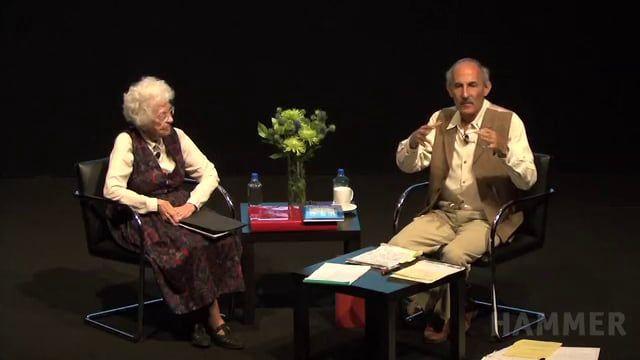 Red Book Dialogues: Jack Kornfield & Katherine Sanford. Hun hang sine malerier på væggen og mediterede over dem for at mærke budskabet
