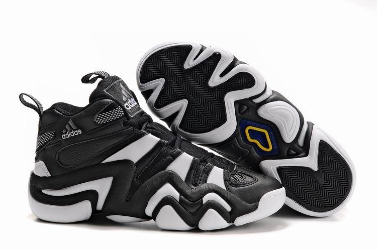 Big Discount Men s adidas Crazy 8 Basketball White Royal Grey Shoes Supplier