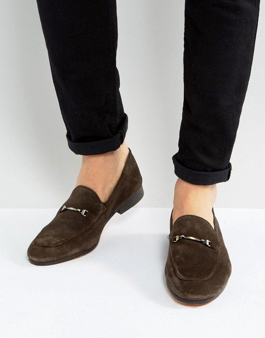 dc39badac21 KG KURT GEIGER MAX SUEDE SMART LOAFERS - BROWN.  kgkurtgeiger  shoes