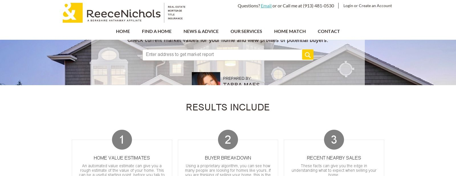 Home Value Estimator By Tarra Maes Home Values Home Selling House