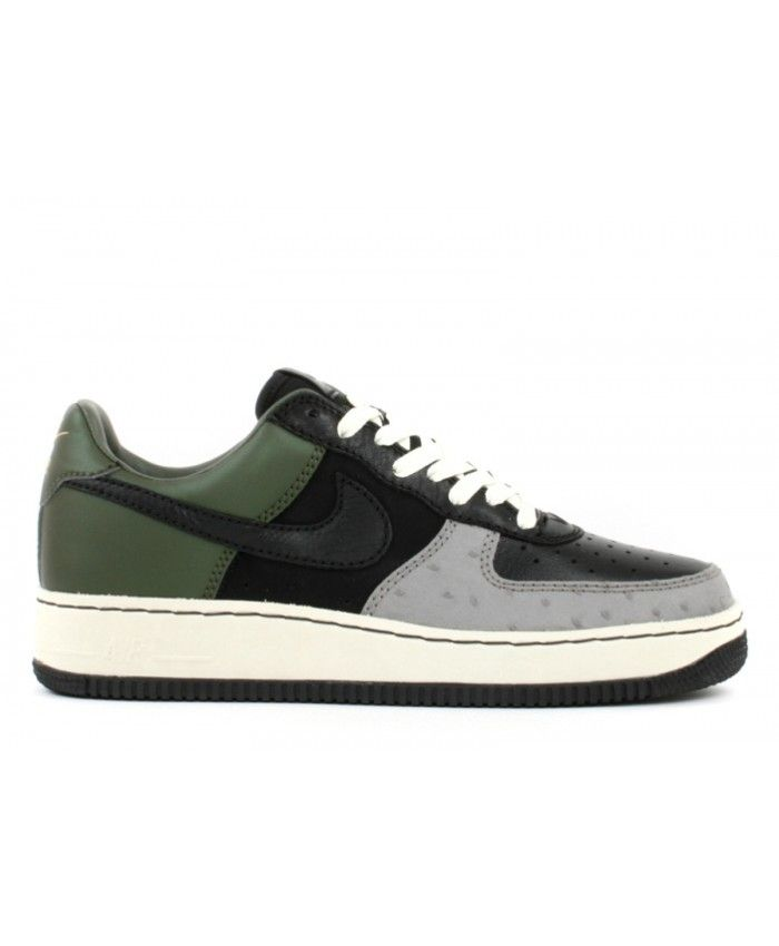 new style cec8e fa466 Air Force 1 Low Insideout Black, Black-Army Olive 312486-001