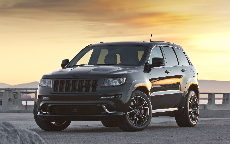 2015 Jeep Grand Cherokee Srt8 Black