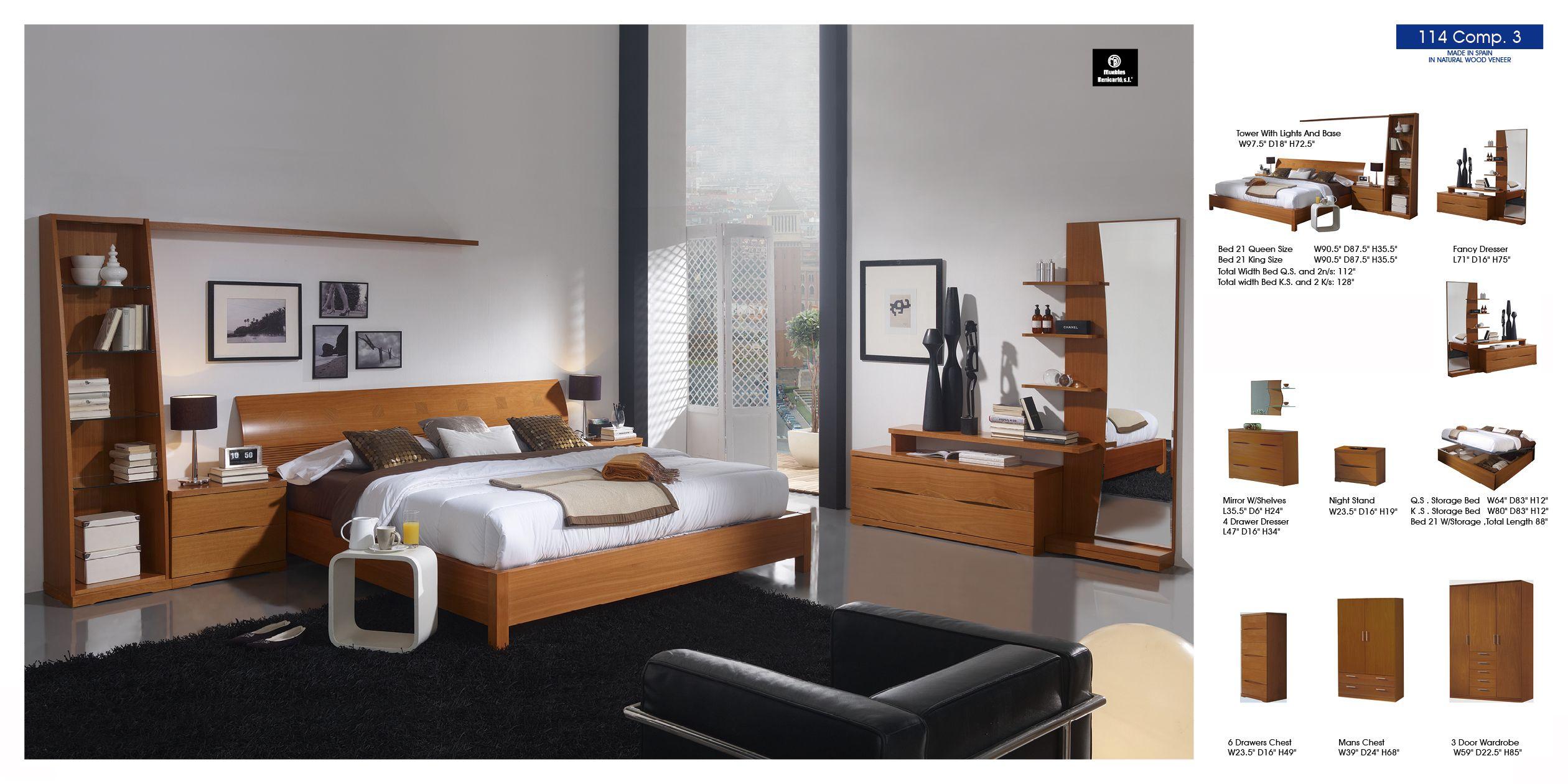 114 Composition 3 Modern Bedroom Modern Bedroom Modern Bedroom