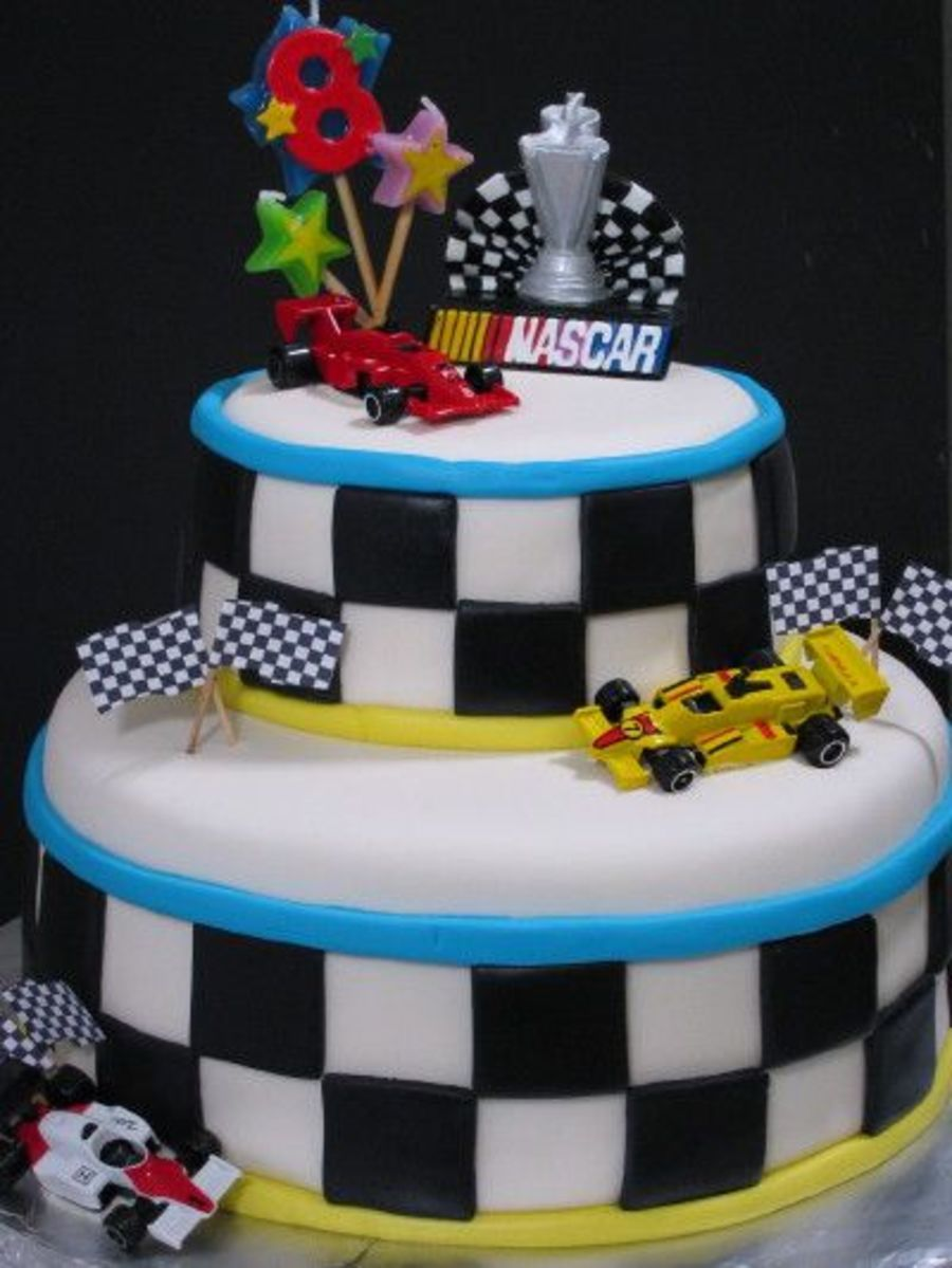 Nascar Cake Christie' Creations Inspirations - Cakes In