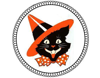 Crafty in Crosby Halloween Paper Medallions Halloween Pinterest - halloween decorations black cat