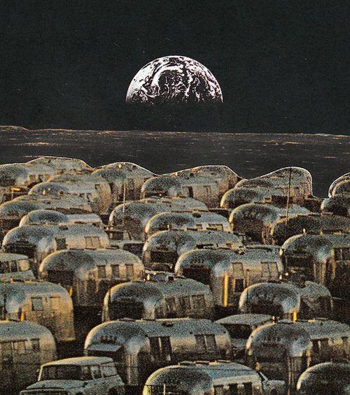 Lunar Campsite by Humdrum Jetset on Flickr