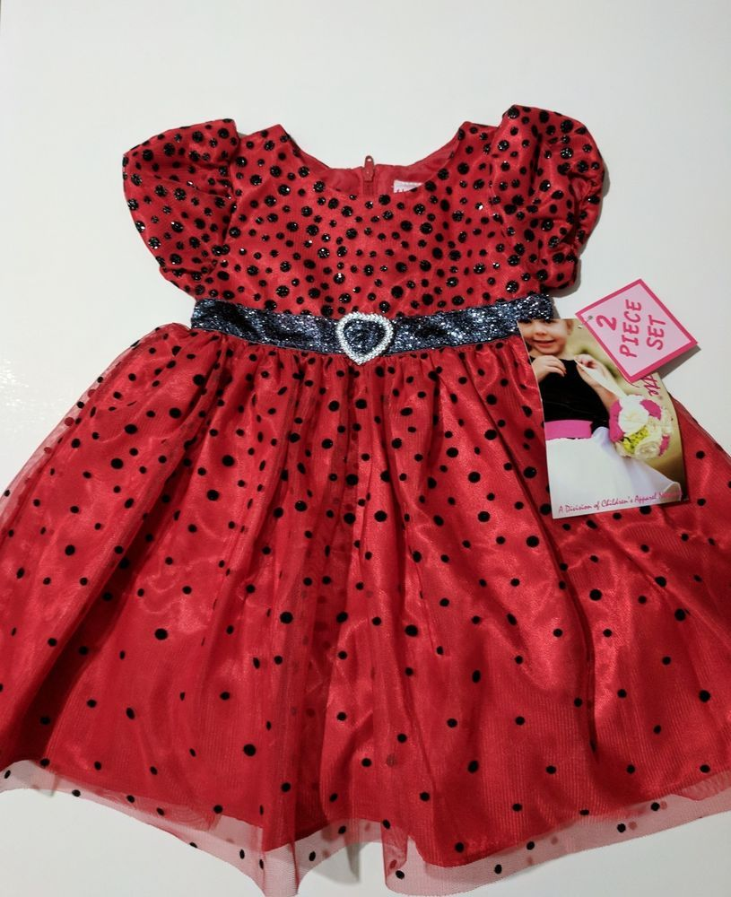 Details about Fancy baby infant girl 2 piece party dress ...