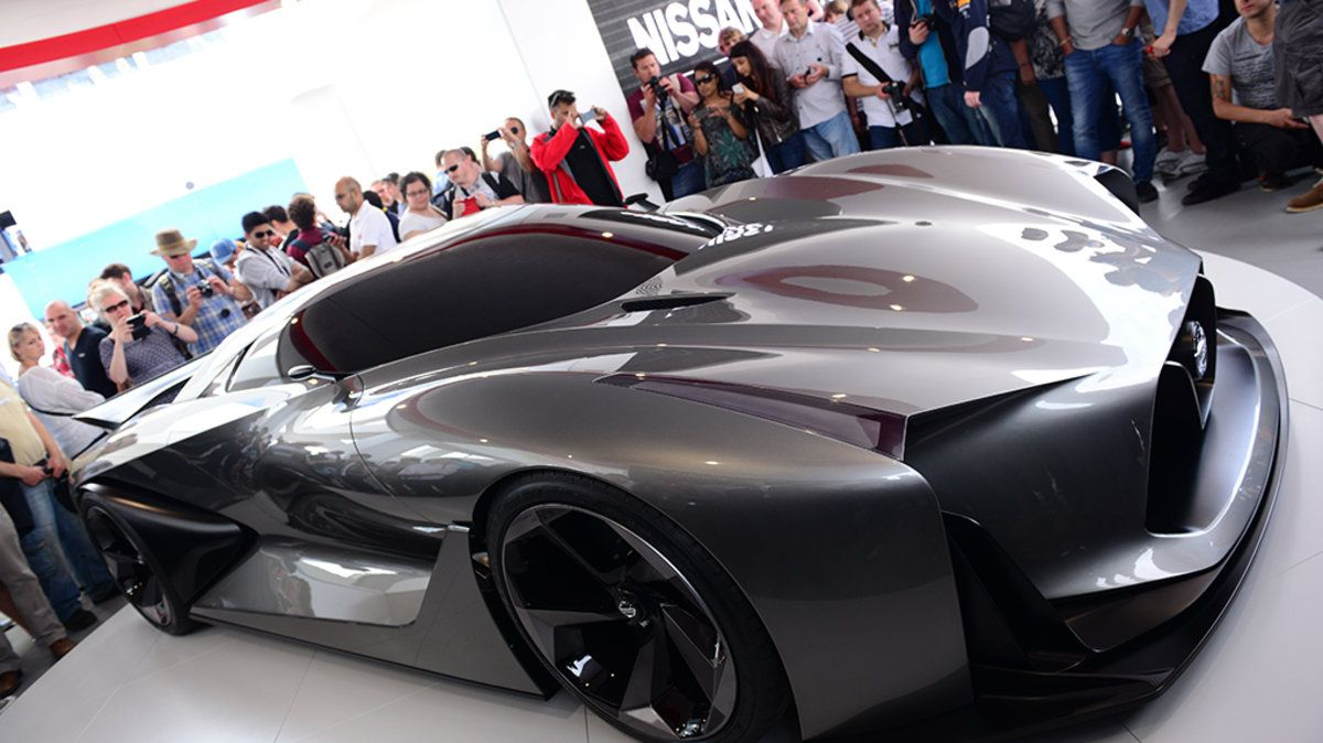 Nissan Builds A Real Life Version Of Its Stunning Gran Turismo Supercar Futuristic Cars Nissan Super Cars