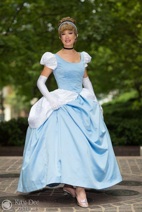 Disney CINDERELLA at the BALL Jumper Dress Custom Size