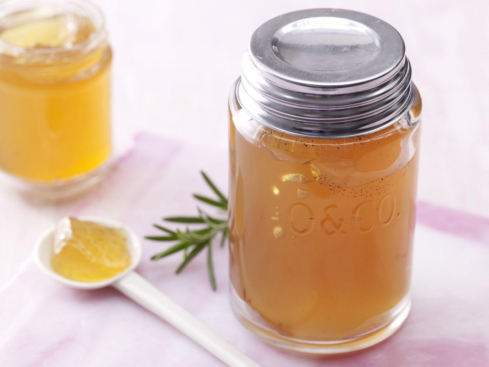 Apfel-Rosmarin-Gelee | Rezept | Food | Gelee, Apple ...