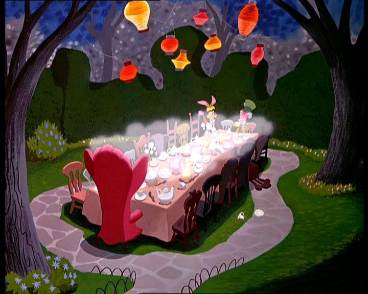 Mad Hatter Table Alice In Wonderland Tea Party Alice Tea Party