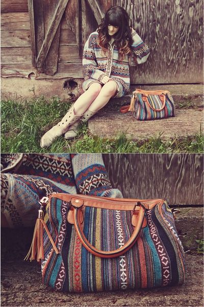 Ethnic patterns. idee voor tas