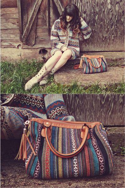 Ethnic patterns. idee voor tas