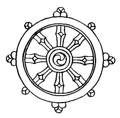 The 8 Auspicious Symbols From Buddhism 5 Dharma Wheel