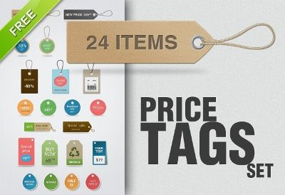 Absolutely Free Price Tag Psd Templates  WebGraphic Design