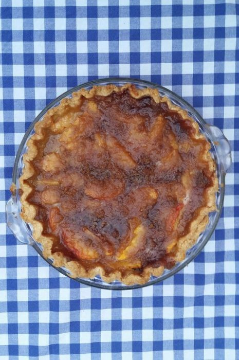 This peach pie recipe is one to keep forever. Not only is it a simple single crust recipe, but it is one of the best I've ever had!